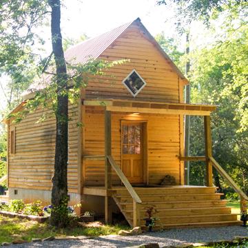 Mason's Chapel Cabin at Springfield in Halifax VA